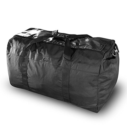 Skunk Large Duffle Midnight Express XL - Smell Proof - Water Proof - Hydroponics (Black)