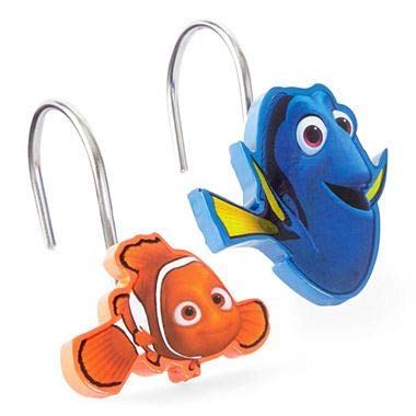 Finding Dory Adoryble Shower Curtain Hooks
