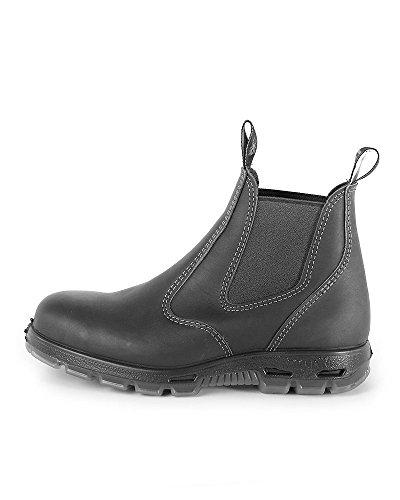Redback Boots Chaussures Boots en Cuir Noir Femme Schwarz vuPHu4