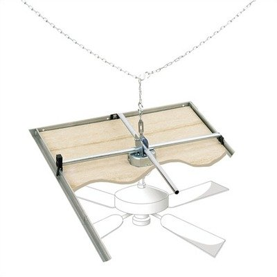 Ceiling Fan and Light Fixtures Support Brace for Suspended Ceilings [Set of 2] Review