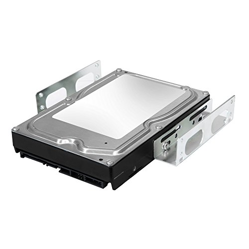 "Kingwin SSD Hard Drive Mounting Kit Internal, Convert Any 3.5"" Solid State Drive/HDD Into One 5.25 Inch Drive Bay. Mounting Screws Included, Quick and Easy Installation [HDM-229]"