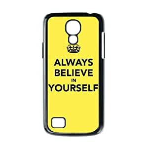 Cheap phonecase, Bible Verses Quotes Always Believe In Yourself picture for black plastic Samsung Galaxy S4 mini case