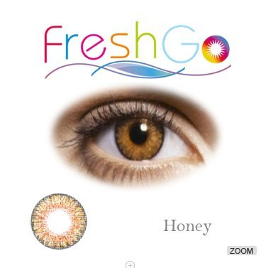 Beautiful Honey - Hazel Colored Contacts