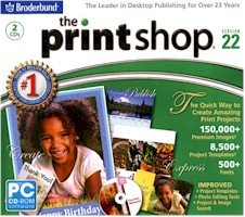New Broderbund Printshop Version 22 System Requirements 128 Mb Ram 750 Mb Hard Drive Space 1 ()