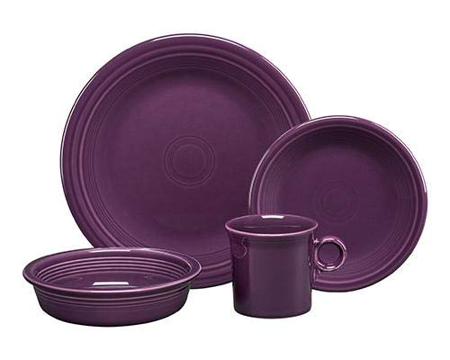 Fiestaware 4 Piece Placesetting Mulberry 831343 -