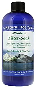 The Natural Hot Tub Company All Natural Filter Soak 16 Ounce Bottle