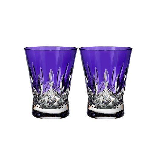 - Waterford Set of 2 Lismore Pops Double Old Fashioned Glasses