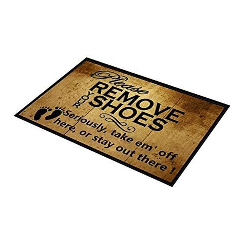 Chezaa 15.7x23.6inch Water Absorbent Pad Soft Anti-Skid Carpet Living Room Bedroom Shaggy Carpet