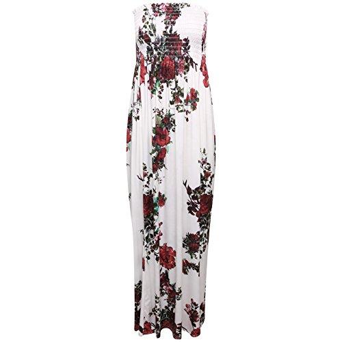 flower bandeau dress - 8