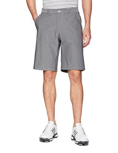 (adidas Golf Men's Ultimate 365 Twill Crosshatch Shorts, Grey Two/Grey Five, 38