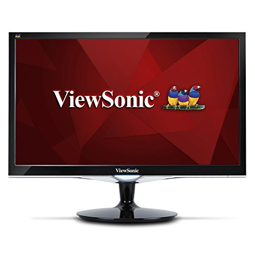 ViewSonic VX2252MH 22 Inch 2ms 60Hz 1080P Gaming Monitor with HDMI DVI and VGA inputs,Black