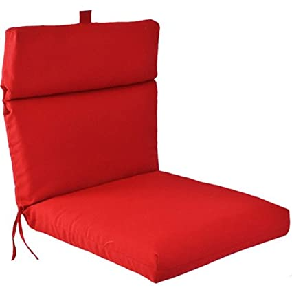 Amazon Com Universal Outdoor Chair Cushion Red Patio Furniture