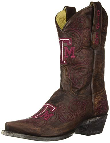 - GAMEDAY BOOTS NCAA Texas A&M Aggies Women's 10-Inch, Brass, 10 B (M) US
