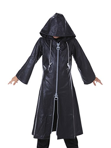 SDWKIT Kingdom Hearts II Cosplay Organization XIII Leather Outfit 1st Ver