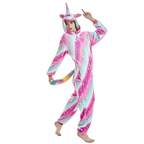 Fesky Adult Onesie Pajamas Animal Dinosaur Cosplay Costume Unisex for Men Women Purple -