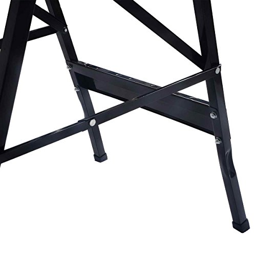 Portable Multipurpose Workbench Table Folding - Toolsempire Adjustable Work Table Sawhorse Vise Heavy Duty Stainless Steel Legs Lightweight Repair Tools For Workshop Light Work by Toolsempire (Image #3)