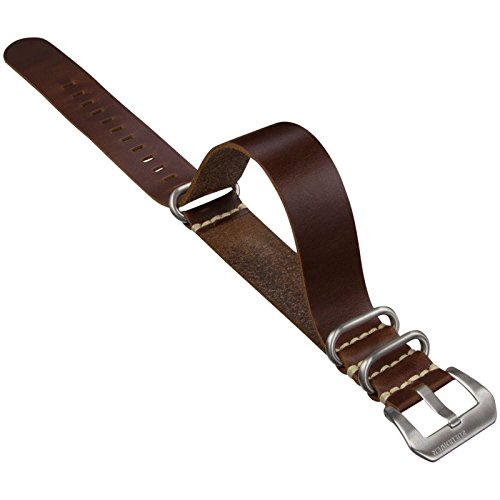 ZULUDIVER Genuine Leather Watch Band ZD Style Brown for sale  Delivered anywhere in USA