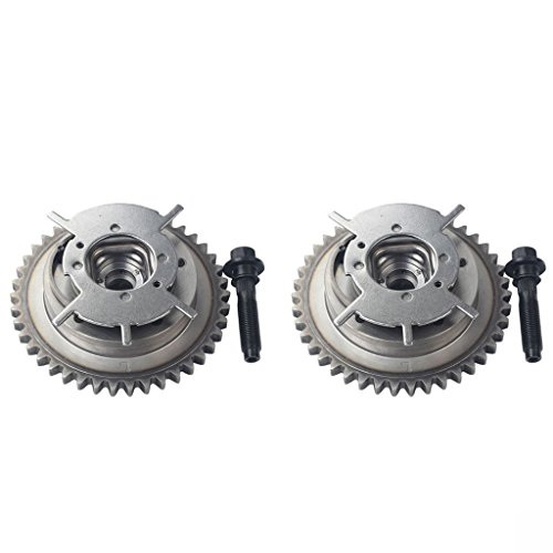 BLACKHORSE-RACING Pair of Timing Cam Phaser Intake Camshaft Gear Valve Variable Fit for Ford 4.6L 281 5.4L 330 3V Variable 917-250