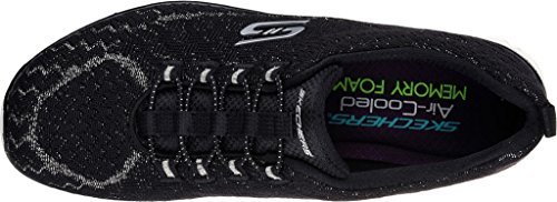 Sneaker Flex Skechers Donna 3 bkw Basse Nero 0 Ez IqITAZ