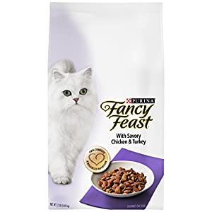 Purina Fancy Feast Dry Cat Food; With Savory Chicken & Turkey - 12 lb. Bag 18