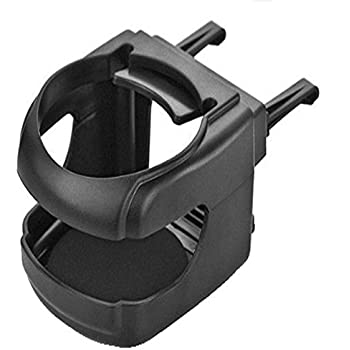 Aumo-mate Portable Black Clip-on Car Truck A/c Mount Cup Holder Automobile Drinks Holder Water Bottle Can Folding Multi-function Car Accessories