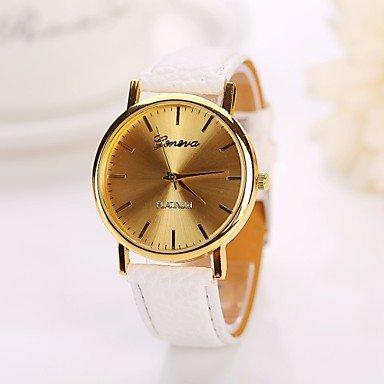 Bheema 2015 nuevas mujeres del estilo electrónicas visten los relojes de moda de cuero de regalo clásicos niñas: Amazon.es: Relojes