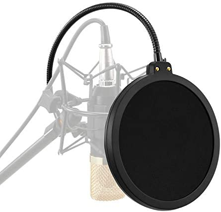 Moukey Microphone Filter Layered Screen