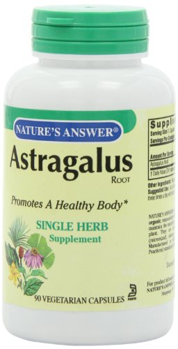 Nature's Answer Astragalus Root, 90-Count - 41k nhznRYL - Nature's Answer Astragalus Root, 90-Count