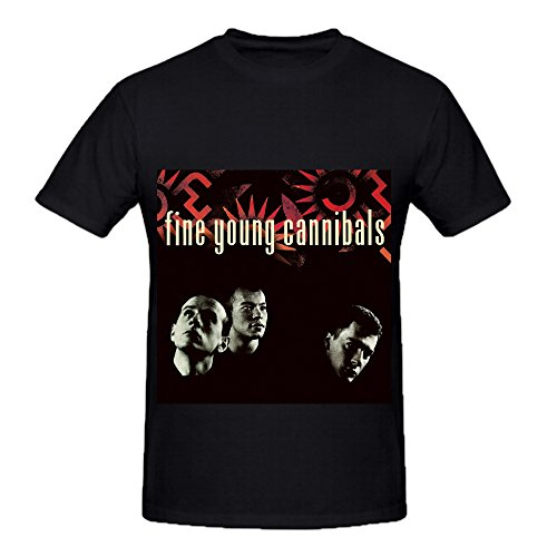 fine-young-cannibals-fine-young-cannibals-rb-album-cover-men-crew-neck-printed-shirts-black