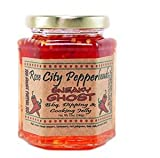 pizza jelly - Sneaky Ghost - Rose City Pepperheads Pepper Jelly, 12 Ounce - Hostess, Christmas, Birthday, Get Well Gift (Sneaky Ghost)