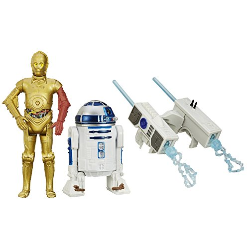 Star Wars The Force Awakens Snow Mission R2-D2 and C-3PO Figure - 3.75 inch, Pack of 2