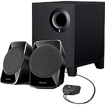 Creative SBS A-120 2.1 Channel Multimedia Speaker System (Black)