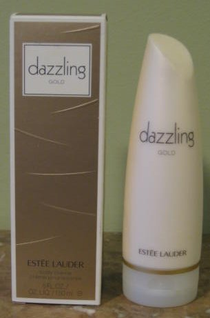 - Dazzling Gold 5 oz/150 ml Body Creme by Estee Lauder for Women