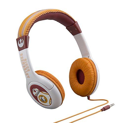 092298925509 - Star Wars The Force Awakens Episode 7 BB 8 Kid Friendly Volume Reduced Youth Stereo Headphones carousel main 1