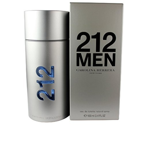 Cologne Men 212 For - CAROLINA HERRERA 212 MEN EDT SPRAY 100ML 3.4OZ NEW