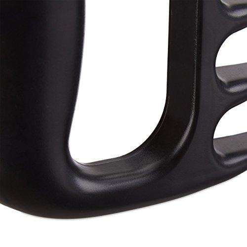 Relaxdays Pack de Trinchadores de Carne Tipo Garra, Negro, 11x11.5x2 cm: Amazon.es: Hogar