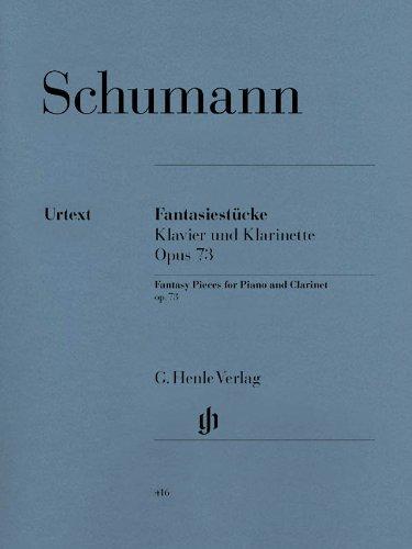 Fantasiestucke pour Piano et Clarinette Op. 73