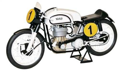 Italeri Model Kit - Norton Manx 500cc Motorbike - 1:9 Scale - 4602