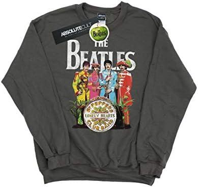 The Beatles Herren SGT Pepper Sweatshirt Holzkohle X-Large