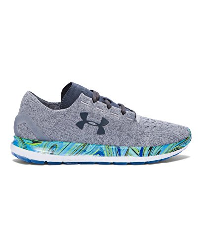 Under Armour Men's UA SpeedForm Slingride Psychedelic Running Shoes 8 OVERCAST GRAY