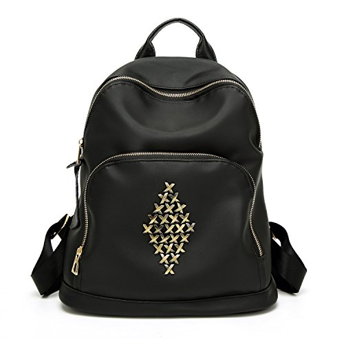 XBER Women Backpack Oxford Stachel Bag Backpack for School College Tee Girls 17d0094d9c