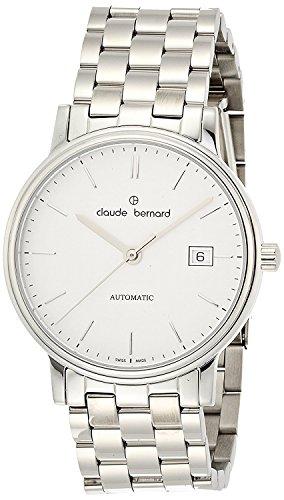 claude bernard watches 3 Hands auto silver dial automatic winding back cover skeleton 800853AIN Men's [regular imported goods]