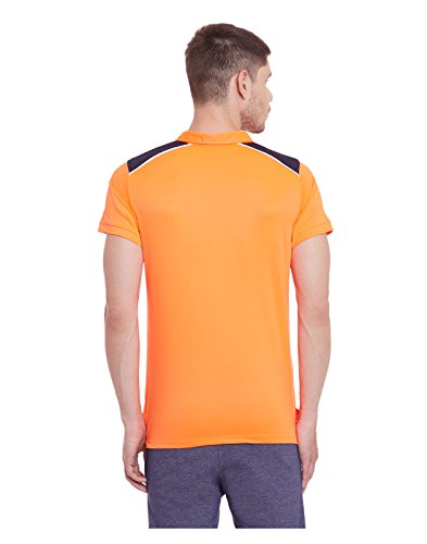 Yepme - Scott - Hochleistungs-Polo-T-Shirt - Orange