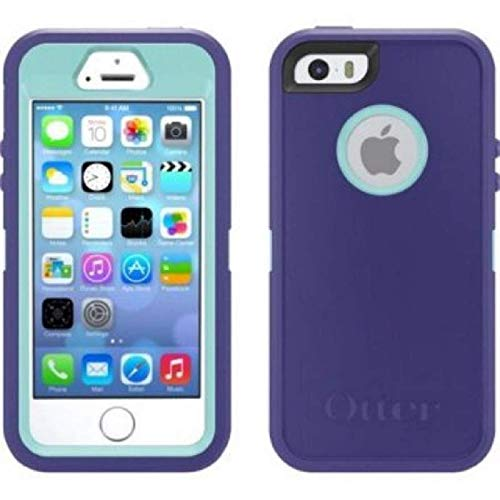 new styles 1f67f ffa20 OtterBox Defender Series Case for iPhone 6S & Cable & Belt Clip fits  OtterBox Cover - Purple Blue