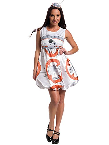 Rubie's Women's Star Wars Episode VII: The Force Awakens Deluxe BB-8 Costume, Multi, -