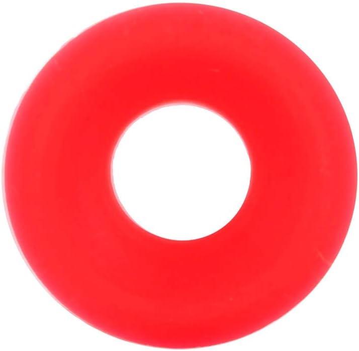 50Pz Guarnizioni Grolsch in silicone rosso per altalena Flip Top Bottle Guarnizioni per birra in casa Birra in gomma siliconica Grolsch Cap Swing Top Guarnizione per rondella