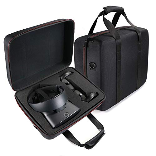 combnine Portable VR Case,Travel Storage Hard Carry Case for Oculus Rift S PC-Powered VR Gaming Headset,Controller Accessories Protective Bag