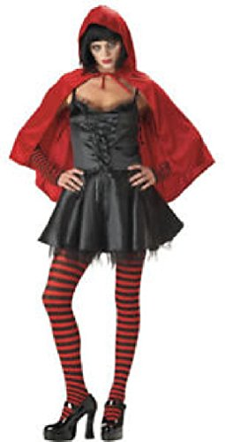 [Fancy Gothic Zombie Little Dead Riding Hood Adult Costume] (Halloween Little Dead Riding Hood Costume)