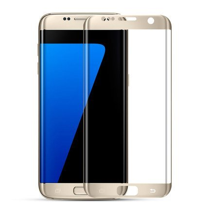 Galaxy S7edge Screen Protector, Dendrobates Curved tempered Glass[Full Coverage][Scratch&Shatter Resistant][High Sensitivity][Bubble Free] privacy screen protector for Samsung