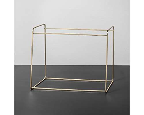 Hearth and Hand with Magnolia Metal Hanging File Holder Gold Joanna Gaines Collection Limited Edition